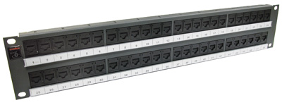 Patch panel PowerCat 2U, 48xRJ45, DataGate+, UTP kat.6, 568B
