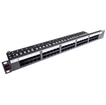 Telefonní patch panel 1U, 50xRJ45